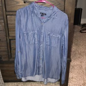 Gap women's denim button up size medium